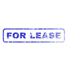 for lease rubber stamp vector image vector image