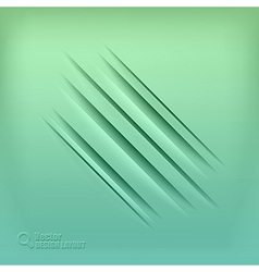 gaps green vector image vector image