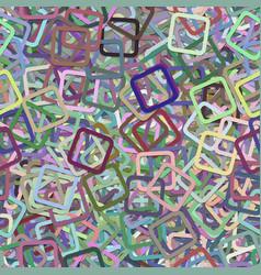 Seamless random square pattern background vector