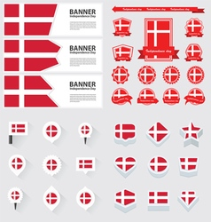 Set denmark vector