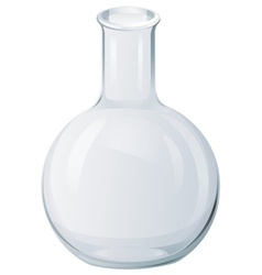 Round bottom flask vector