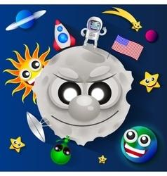 Cosmonautics day vector image