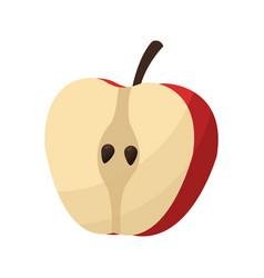 Healthy fruit icon vector