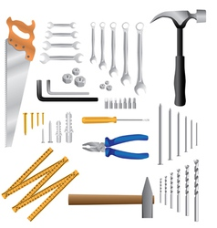 Household tools vector image vector image
