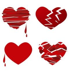 Love hearts vector