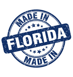 made in florida vector image vector image