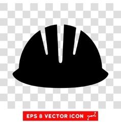 Builder helmet eps icon vector