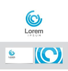 circles icon vector image
