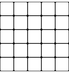 Grid seamless pattern vector image vector image