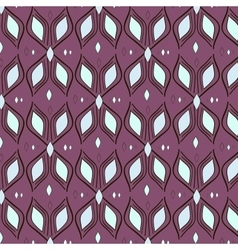 pattern textile waves vector image vector image