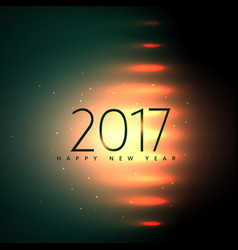 Stylish 2017 happy new year background with vector