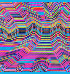 warped lines background flexible stripes vector image vector image