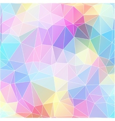 Colorful mosaic banner vector
