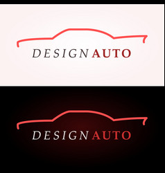 Car logo company vector