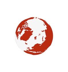 Modern elements world map vector
