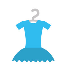 tutu ballet on the hanger costume vector image