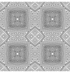 seamless pattern geometric wallpaper vector image