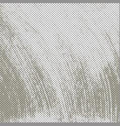 Grey grunge halftone background vector
