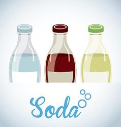 Soda drink vector