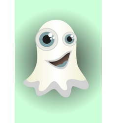 Cartoon ghost vector