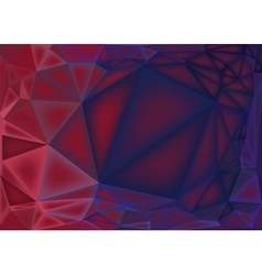 Polygonal abstract background low poly pink and vector image