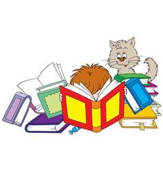 reader vector image