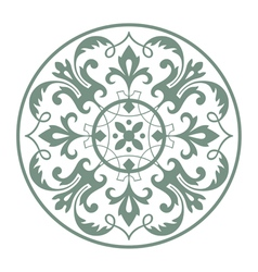 Circular ornament vector
