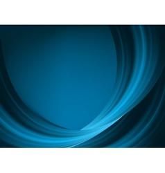 Blue light wave EPS 8 vector image vector image