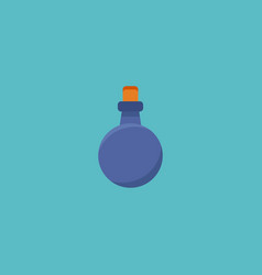 flat icon mana potion element vector image