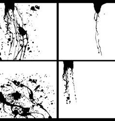 Splash background vector