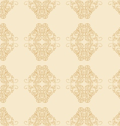 Floral Ornament Seamless Pattern vector image