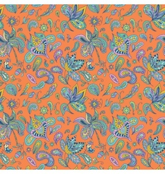 Paisley pattern vector