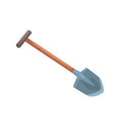 Garden shovel agriculture tool cartoon vector