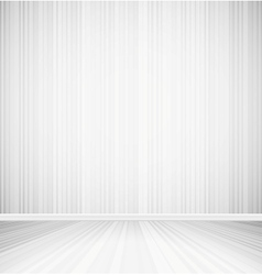 Bright empty room vector