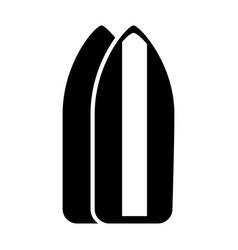 Black icon surf table cartoon vector
