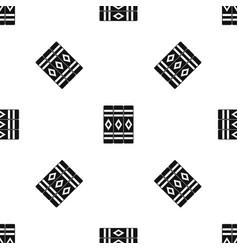 Three literary books pattern seamless black vector