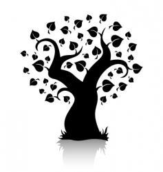 Tree shape vector