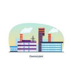 Building of chemical plant electric grid vector