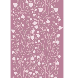 Retro background for valentine day card vector image