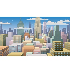 Cityscape Day vector image