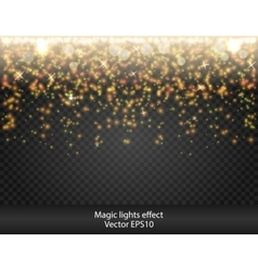 Glow special effect light flare star firework vector
