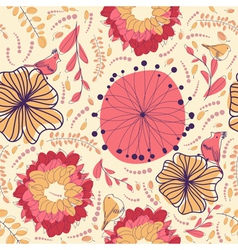 Floral seamless vector