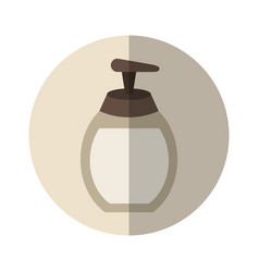 Soap bottle spa product vector
