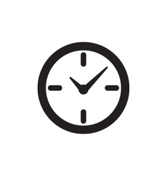 Time or clock icon vector