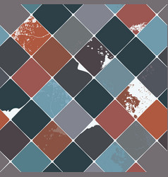 ceramic seamless pattern vector image