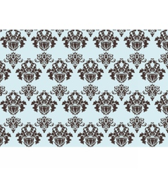 Baroque pattern ornament vector
