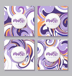 ink texture watercolor hand drawn marbling vector image vector image