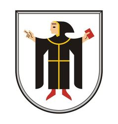 Munchen coat of arms vector