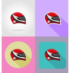 sport flat icons 36 vector image