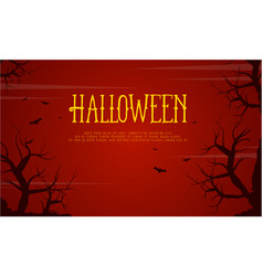 Halloween with bat background collection vector
